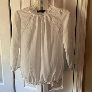 The Limited white shirt small